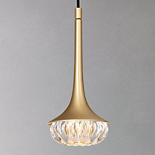 Buy CVL Flea Brass Pendant Online at johnlewis.com