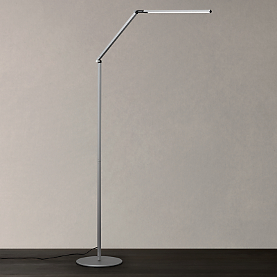 Koncept Z-Bar Floor Lamp, Silver
