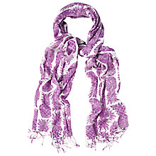 Buy White Stuff Pretty Pineapple Scarf, Pink Online at johnlewis.com