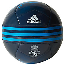 Buy Adidas Real Madrid F.C. Football, Dark Indigo Online at johnlewis.com