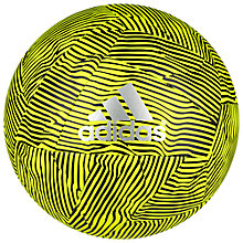 Buy Adidas X Glider Football, Yellow/Black Online at johnlewis.com