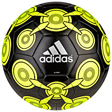 Buy Adidas Ace Glide II Football, Black/Yellow Online at johnlewis.com