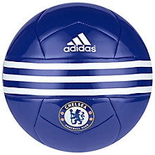 Buy Adidas Chelsea F.C. Football, Blue Online at johnlewis.com