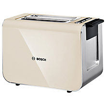 Buy Bosch TAT8617GB Styline Toaster, Cream Online at johnlewis.com