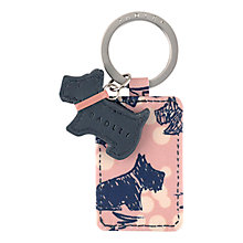 Buy Radley Cherry Blossom Dog Keyring, Pink Online at johnlewis.com