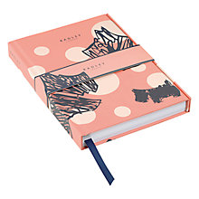 Buy Radley Cherry Blossom Dog A5 Notebook Online at johnlewis.com