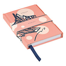 Buy Radley Cherry Blossom Dog A6 Notebook, Pink Online at johnlewis.com