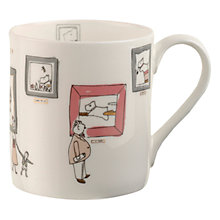Buy Radley In The Sun/Exhibition Road Mug, Multi Online at johnlewis.com