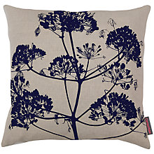 Buy Clarissa Hulse Angelica Cushion , Natural / Ink Online at johnlewis.com