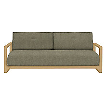 Buy John Lewis Mercer Sofabed, Stanton Putty Online at johnlewis.com