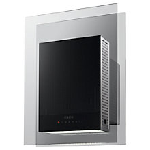 Buy AEG X94484MV10 Cooker Hood, Stainless Steel Online at johnlewis.com