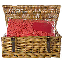Buy John Lewis Build Your Own Hamper, Lidded Basket Online at johnlewis.com