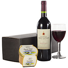Buy John Lewis Bordeaux & Pate Hamper Online at johnlewis.com