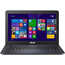 "Buy Asus EeeBook E402MA Laptop, Intel Pentium, 2GB RAM, 32GB eMMC Flash Storage, 14"" Online at johnlewis.com"