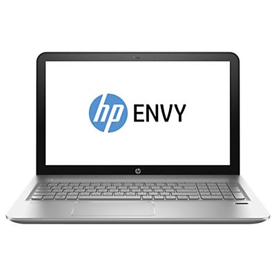 "Image of HP Envy 15-AE002NA Laptop, Intel Core i7, 12GB RAM, 256GB SSD,15.6"" Full HD, Silver"