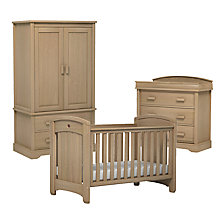 Buy Boori Classic Royale Cotbed, Dresser and Wardrobe Furniture Set, Almond Online at johnlewis.com