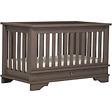 Buy Boori Eton Convertible Plus Cotbed, Mocha Online at johnlewis.com