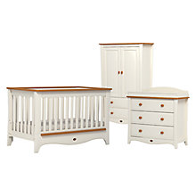 Buy Boori Provence Cotbed, Dresser and Wardrobe, Honey/Ivory Online at johnlewis.com