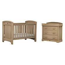 Buy Boori Classic Royale Cotbed and Dresser Furniture Set, Almond Online at johnlewis.com