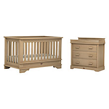 Buy Boori Eton Cot Bed and 3-Drawer Dresser Set, Natural Online at johnlewis.com