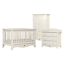 Buy Boori Provence Convertible Plus Cotbed, 3-Drawer Dresser and Wardrobe, Ivory Online at johnlewis.com