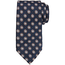 Buy Ted Baker Splogee Silk Tie, Navy Online at johnlewis.com