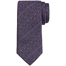 Buy Ted Baker Santee Silk Woven Tie, Purple Online at johnlewis.com