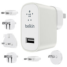 Buy Belkin Universal Travel Kit For Smartphones & Tablets Online at johnlewis.com