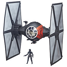 Buy Star Wars Episode VII: The Force Awakens First Order Special Forces TIE Fighter Online at johnlewis.com