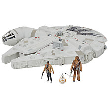 Buy Star Wars Episode VII: The Force Awakens Millennium Falcon Toy Online at johnlewis.com