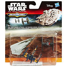 Buy Star Wars Episode VII: The Force Awakens Vehicle 3-Pack, Assorted Online at johnlewis.com
