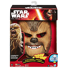 Buy Star Wars Episode VII: The Force Awakens Chewbacca Electronic Mask Online at johnlewis.com