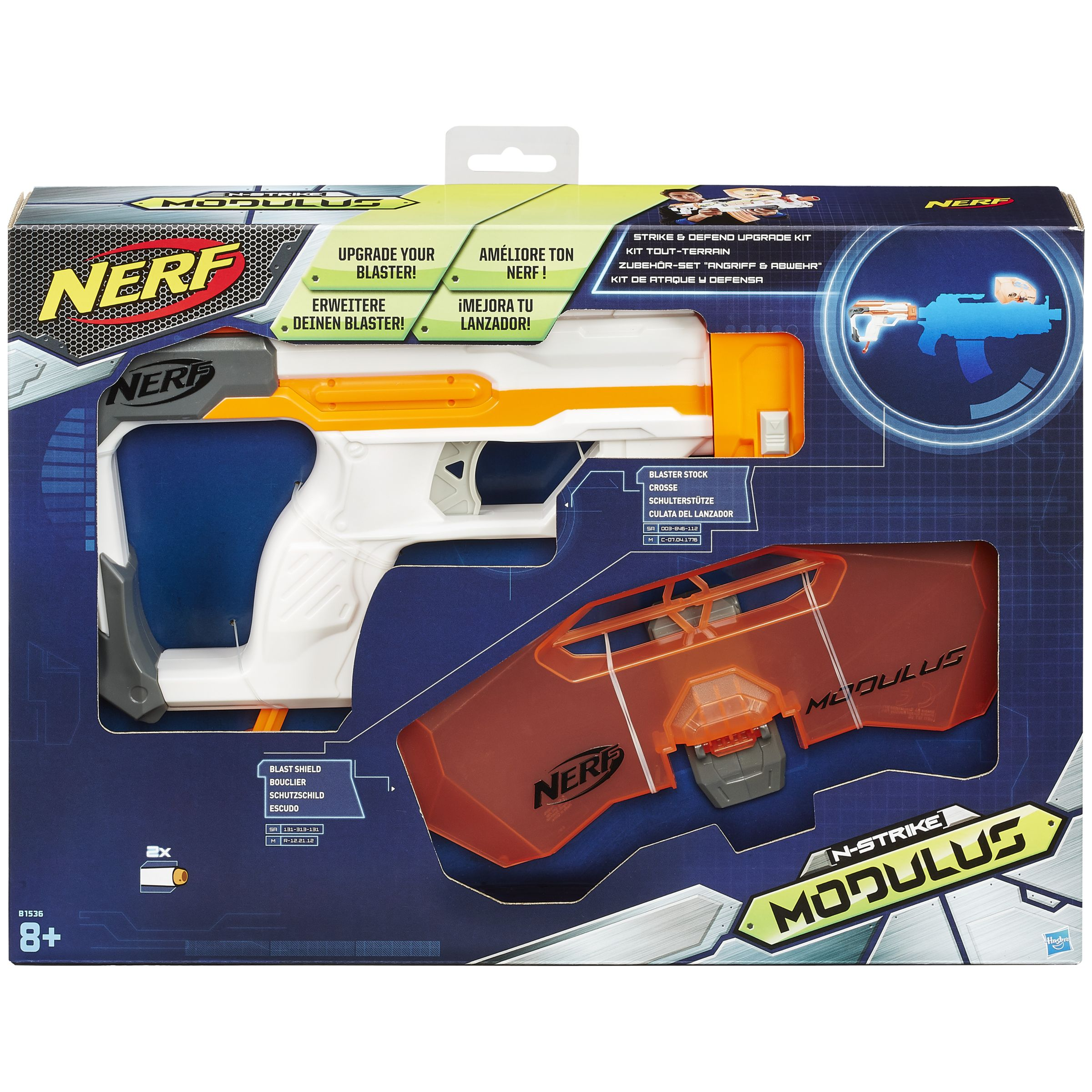 NERF Nerf Modulus Strike & Defend Upgrade Kit