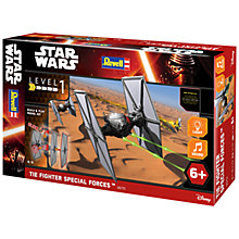 Buy Star Wars Episode VII: The Force Awakens TIE Fighter Build & Play Kit Online at johnlewis.com