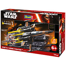 Buy Star Wars Episode VII: The Force Awakens Poe's X-Wing Fighter Build & Play Kit Online at johnlewis.com