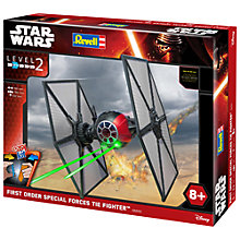 Buy Star Wars Episode VII: The Force Awakens First Order Special Forces Tie Fighter Model Maker Kit Online at johnlewis.com