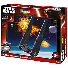 Buy Star Wars Episode VII: The Force Awakens Kylo Ren's Command Shuttle Model Maker Kit Online at johnlewis.com