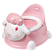 Buy Baby Annabell Potty Time with free Nappy Pack Online at johnlewis.com