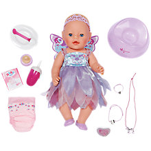 Buy Baby Born Wonderland Doll with free Wonder Fairy Dress Online at johnlewis.com