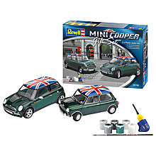 Buy Revell Mini Cooper Modelling Kit Gift Set Online at johnlewis.com