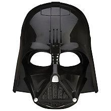 Buy Star Wars Darth Vader Voice Changer Helmet Online at johnlewis.com