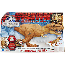 Buy Jurassic World Stomp & Strike Tyrannosaurus Rex Toy Online at johnlewis.com