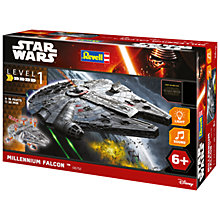 Buy Star Wars Episode VII: The Force Awakens Millennium Falcon Build & Play Kit Online at johnlewis.com