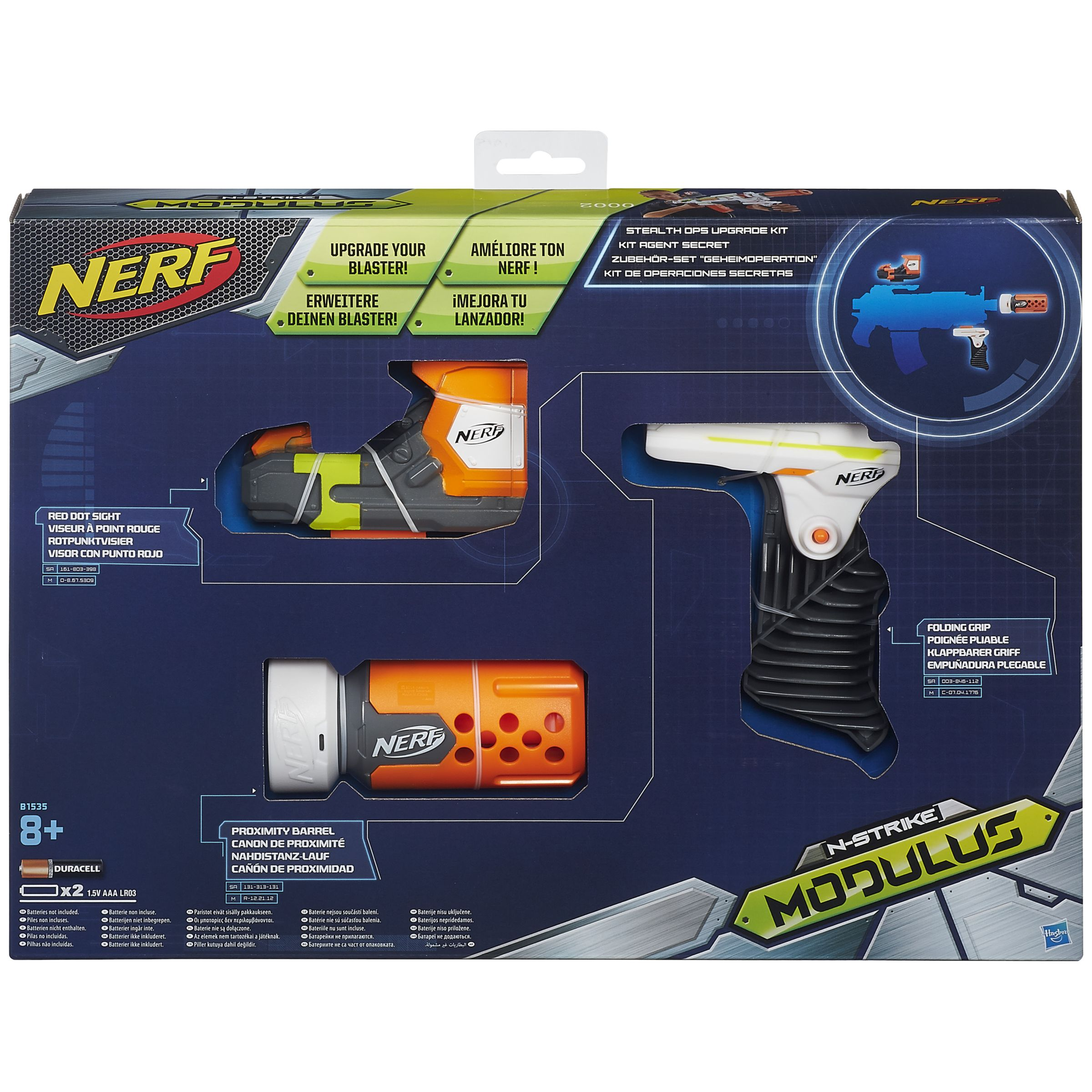 NERF Nerf Modulus Stealth Ops Upgrade Kit