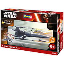 Buy Star Wars Episode VII: The Force Awakens X-Wing Fighter Build & Play Kit Online at johnlewis.com