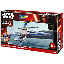 Buy Star Wars Episode VII: The Force Awakens Resistance X-Wing Fighter Model Maker Kit Online at johnlewis.com
