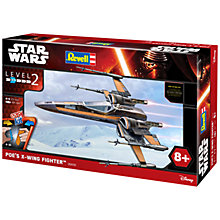 Buy Star Wars Episode VII: The Force Awakens Poe's X-Wing Fighter Model Maker Kit Online at johnlewis.com