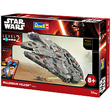 Buy Star Wars Episode VII: The Force Awakens Millennium Falcon Model Making Kit Online at johnlewis.com