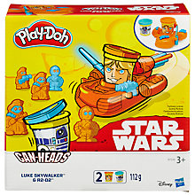 Buy Play-Doh Star Wars Can Heads, Assorted Online at johnlewis.com