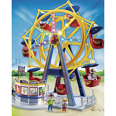 Click here for Playmobil Summer Fun Ferris Wheel With Lights